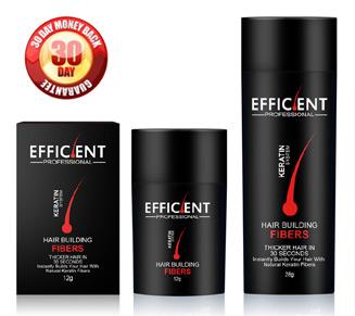 EFFICIENT® Keratin Hair Building Fibers