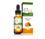 Smyrna VITAMIN C Serum, Vitamin E, Vegan Hyaluronic Acid + Amino  1oz. 30ml