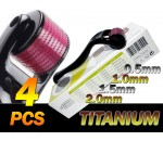 4 of TMT Micro Needle Roller System Titanium Derma Roller